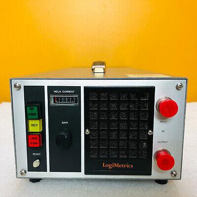 Logimetrics A100 C-580 4 To 8 Ghz 1 Watt Rf Amplifier Tested
