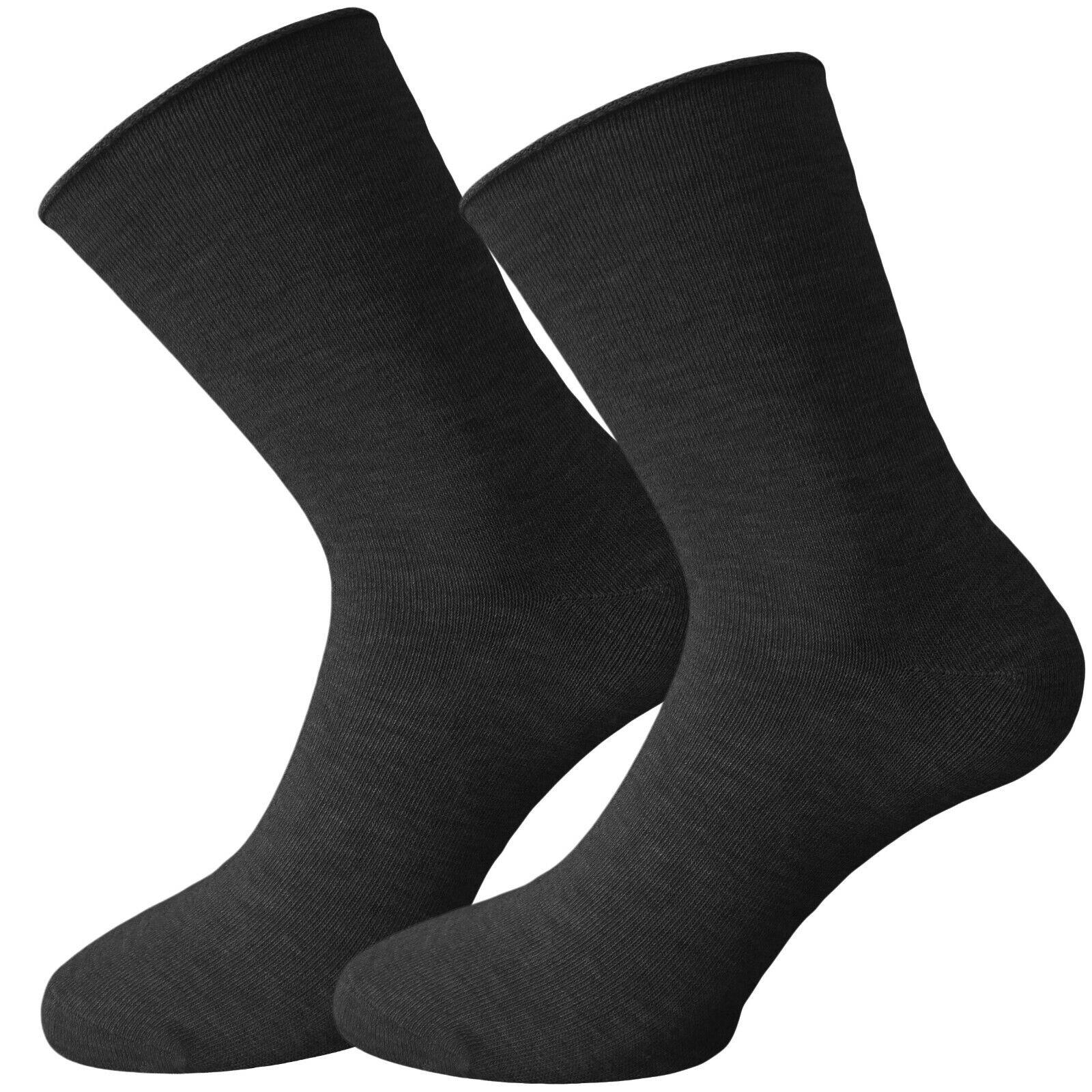 große Vielfalt Stile attraktiver Stil klassisch Details zu 6x EXTRA WEITE Socken für Problemfüße - OHNE GUMMI - WEITER  ZYLINDER - ELASTISCH