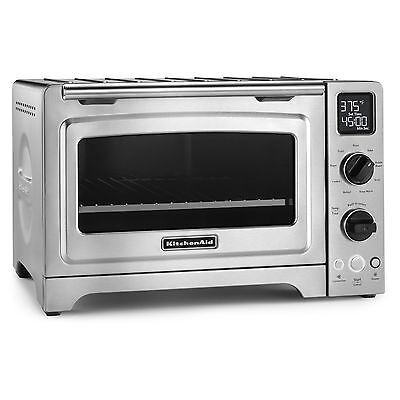 ... KCO273SS Stainless Steel 12-inch Digital Convection Countertop Oven