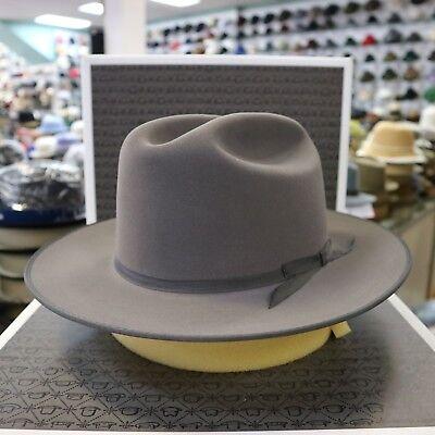 New Fur Felt - STETSON OPEN ROAD CARIBOU ROYAL DELUXE FUR FELT DRESS HAT