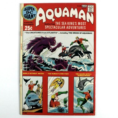 Aquaman Super DC Giant S-26