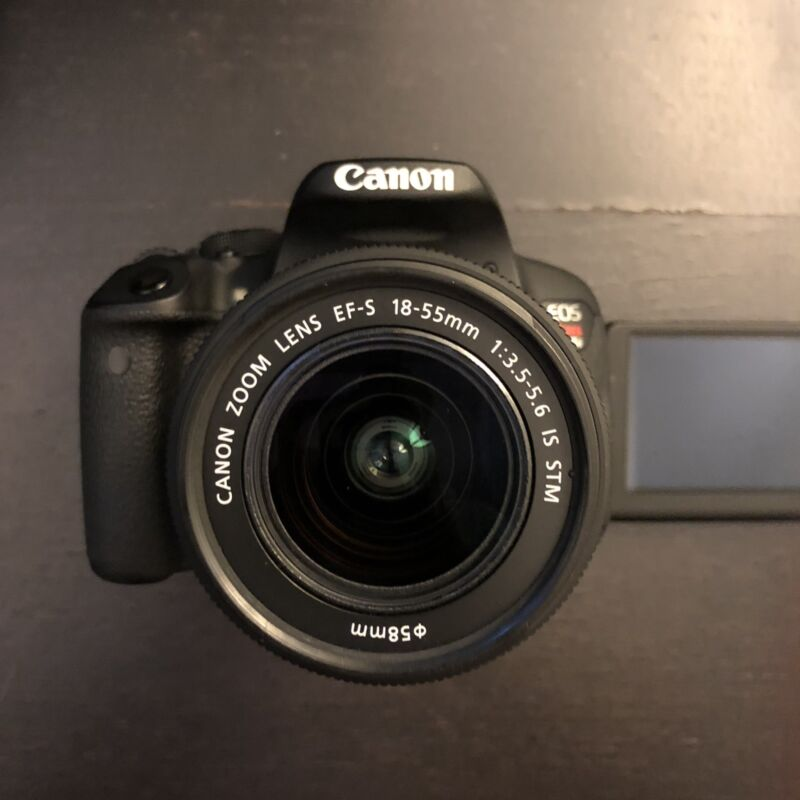 Canon EOS Rebel T5i DSLR Camera with 18-135mm IS STM Lens Black 8595B005