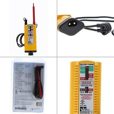 Vol-test Voltage Tester Ideal Led Neon Solenoid Compact Frame Indicator Lamp