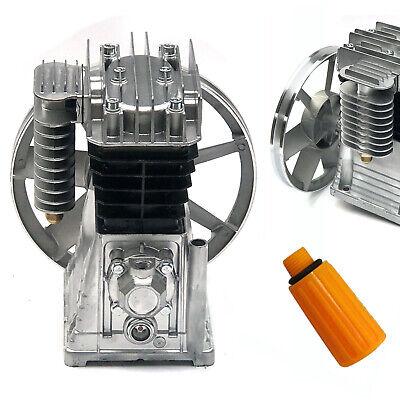 New 3hp 2.2kw Piston Cylinder Air Compressor Pump Motor Head Wsilencerscrew Us