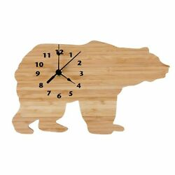 Trend Lab Wall Clock Northwoods Bear