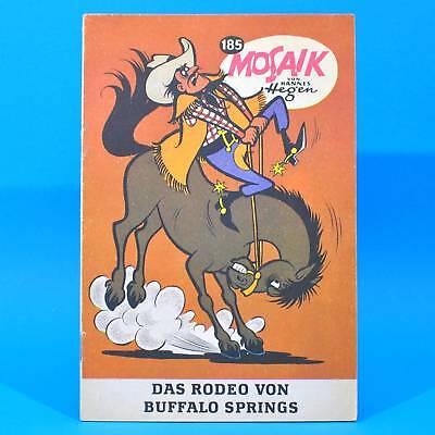 Mosaik 185 Digedags Hannes Hegen Originalheft | DDR | Sammlung original MZ 1
