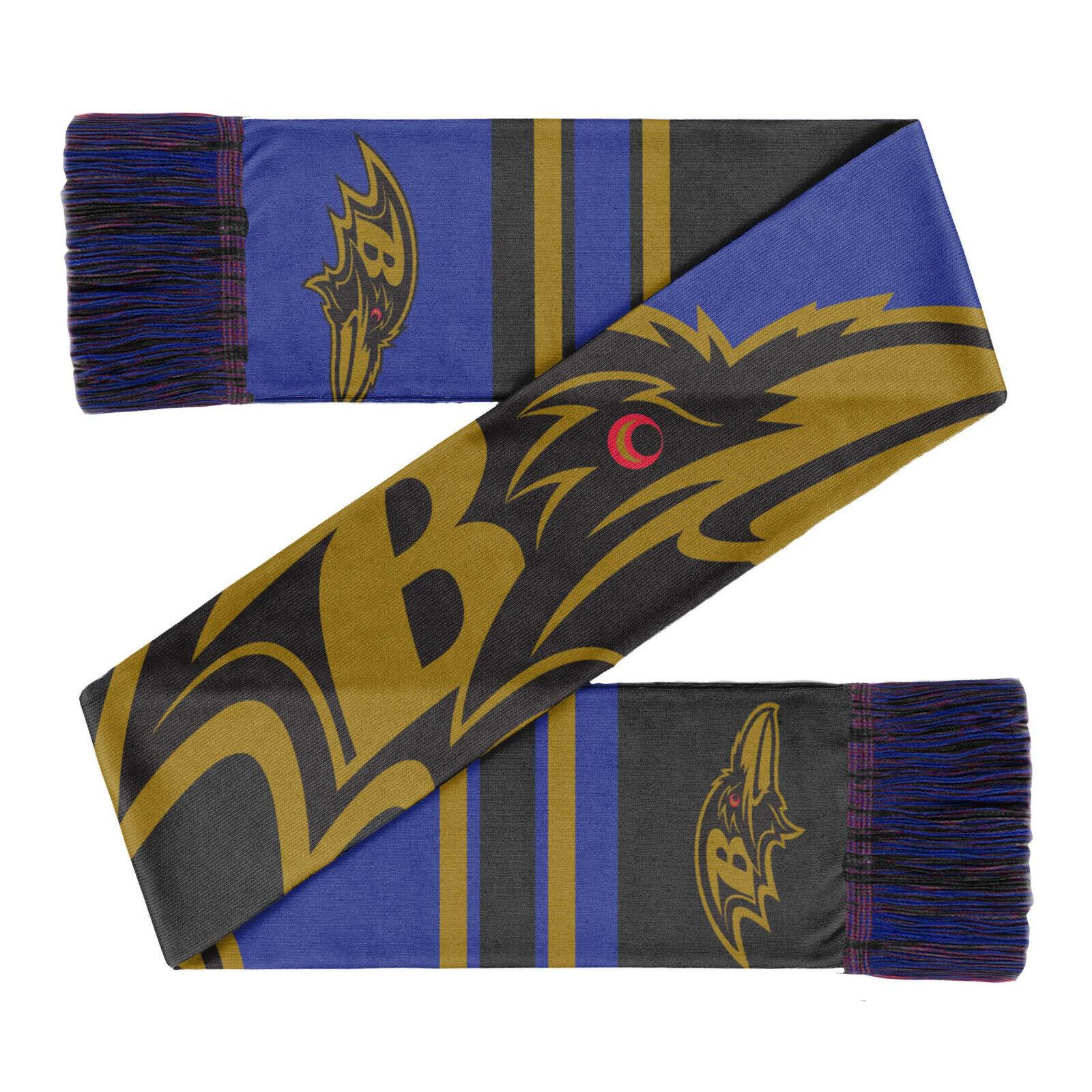 NFL Baltimore Ravens Football Fanschal Schal Scarf Color Block Foco