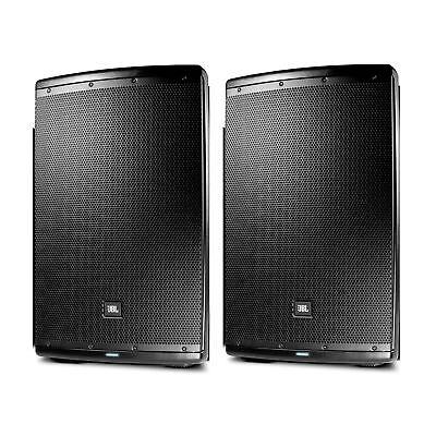 "JBL EON615 Powered 15"" Two-Way Speaker System Pair"