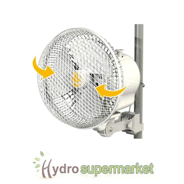SECRET JARDIN 6  MONKEY OSCILLATING FAN 20w CLIP ON GROW TENT POLES  sc 1 st  eBay & Grow Tent Fan: Other Hydroponics | eBay