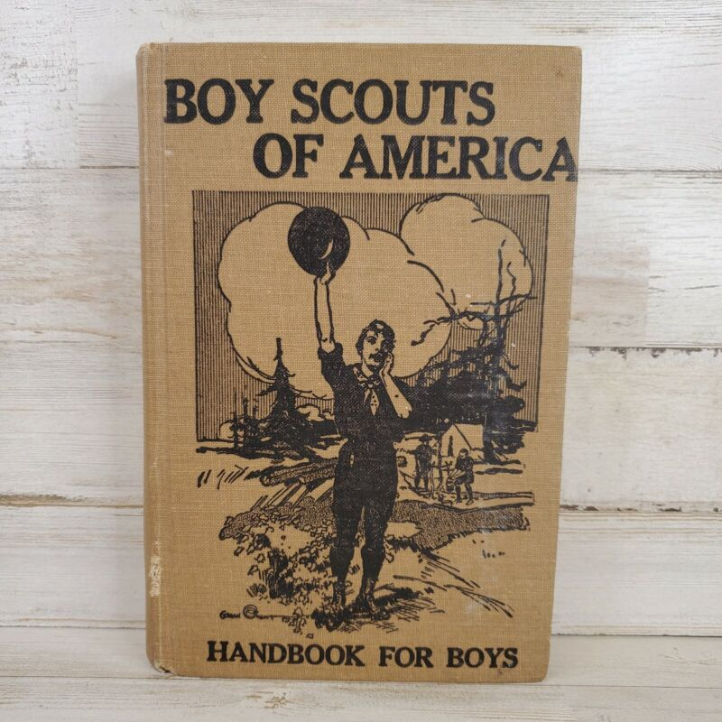 1971 Boy Scouts of America Handbook for Boys 1911 COMMEMORATIVE EDITION Printing