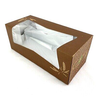 Hearthstone Window Bakery Box Kraft Auto Pop-up 9x 4x 3.5 Pack Of 15
