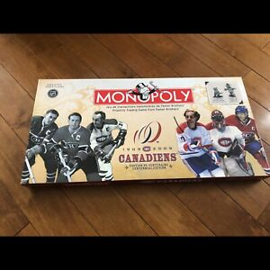 Monopoly canadiens