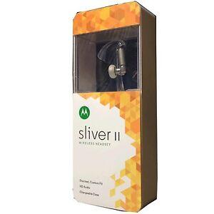 Motorola sliver ii bluetooth headset black - Small mens hoodies