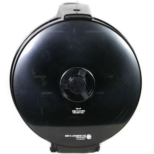 Baywest Silhouette Wagon Wheel 4 Roll Toilet Tissue Dispenser Black Translucent