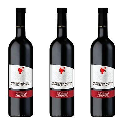 Georgien 12 (3 x 0,75l Khareba Pirosmani Saperavi Rotwein halbtrocken Georgien 12,5 % #5)