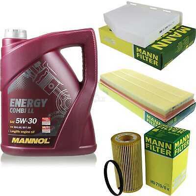 Inspection Set 5L Mannol Energy Combill 5W30 Motor Oil + Mann Filter 10769163