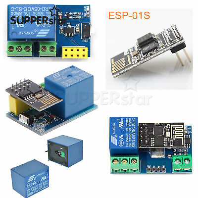 Esp8266 Esp-01s Toi App Controled Smart Automation5v Wifi Relay Moduleass