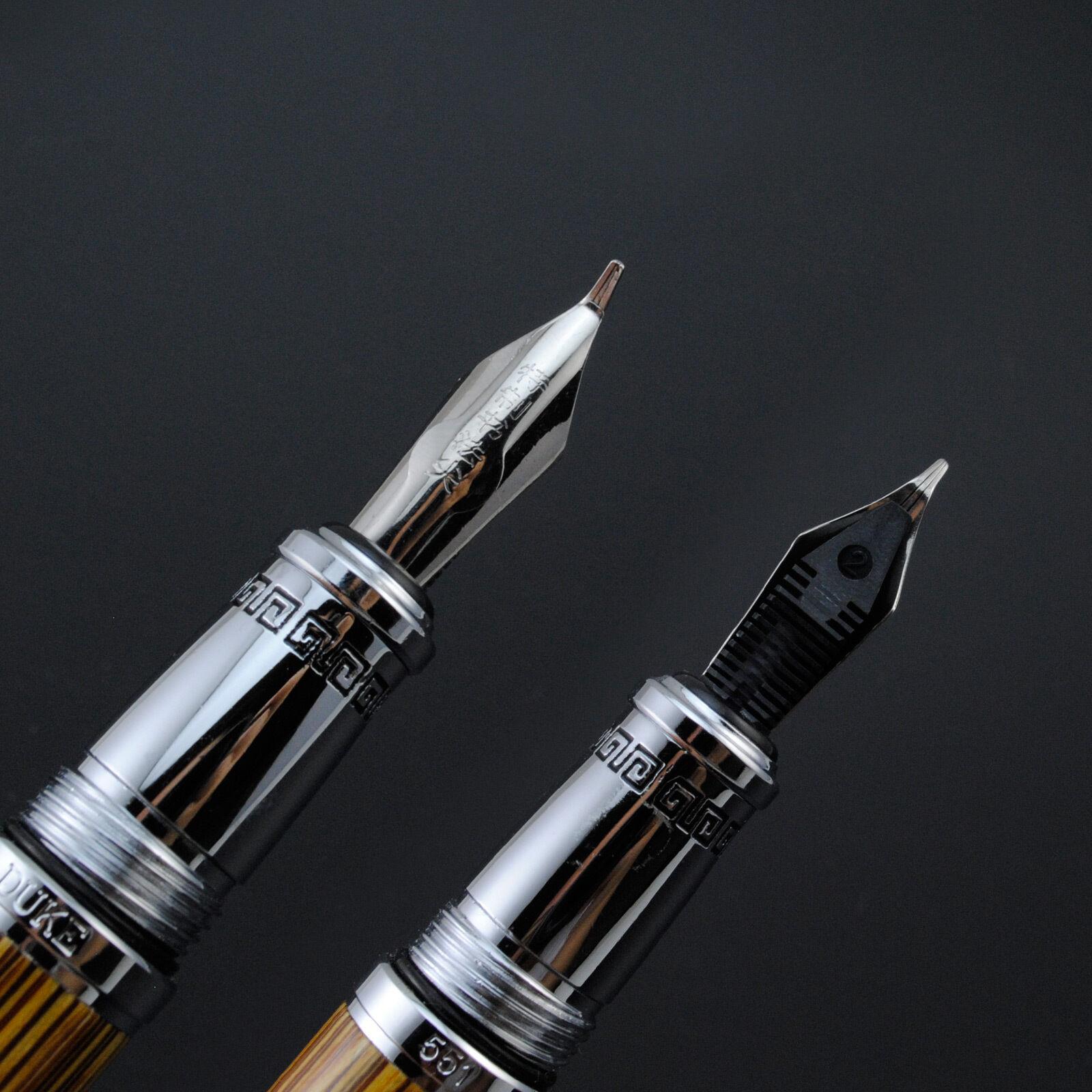 Duke Confucius Calligraphy Pen Screw Type Cap Without Box