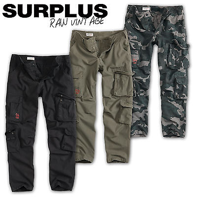 SURPLUS AIRBORNE VINTAGE HOSE SLIMMY ARMY MILITARY CARGO TROUSERS CHINO WORKER Military Chino Hose