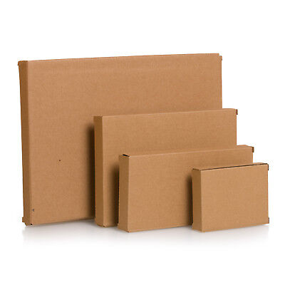 A4 A5 DL Postage Boxes PIP Large Letter Royal Mail Cardboard Mailing Box PPI