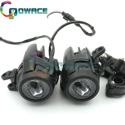 LED Auxiliary Fog Light Driving Lamp Motorcycle 40w For BMW R1200GS/ADV K1600