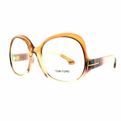 Tom Ford TF5095 748 Translucent Brown Butterfly Women Optical Frames (Tom Ford Optical Women)