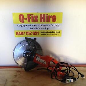 FOR HIRE !!! WET ELECTRIC CONCRETE SAW. Burleigh Heads Gold Coast South Preview