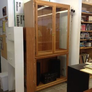 Good condition used glass showcase