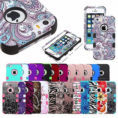 iPhone XS Max Case 8 7 Plus X 5S 6S SE Slim Hard Shockproof Protective Cover