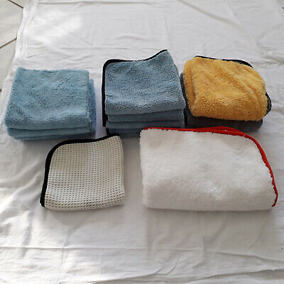 Autopflege Microfasertücher für Politur, Detailer, Knete, Wachs, Versiegelung