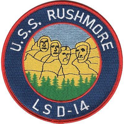 USS Rushmore LSD-14 Casa Grande Class Dock Landing Ship Military Patch