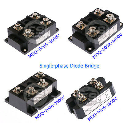 Amp Power Module Single-phase Diode Bridge Rectifier1600v Mdq-100a200a300a500a