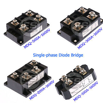 Amp Power Module Single-phase Diode Bridge Rectifier1600v Mdq-100a200a300a500a