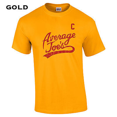 079 Average Joes Captain Mens T-Shirt funny dodgeball uniform costume halloween