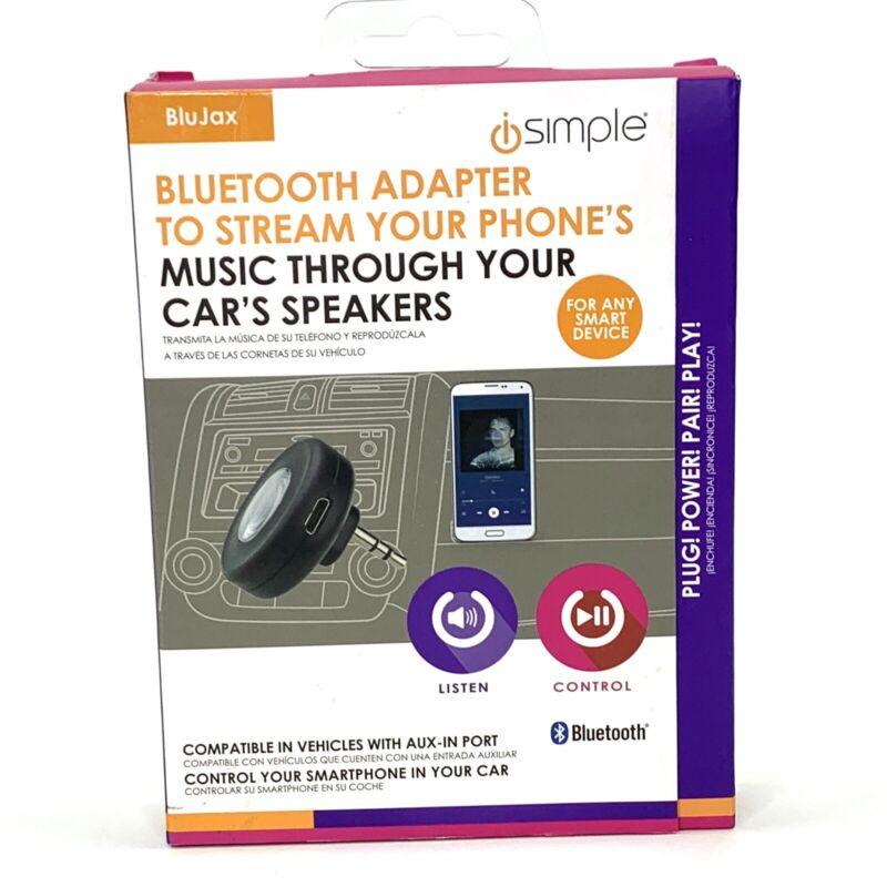 iSimple Bluetooth Adapter Stream Phone Through Car Speakers