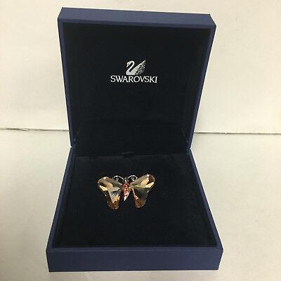 Swarovski Crystal Paradise Bugs Brooch - Butterfly Allada Light Peach 719485 (Swarovski Crystal Butterfly Light)