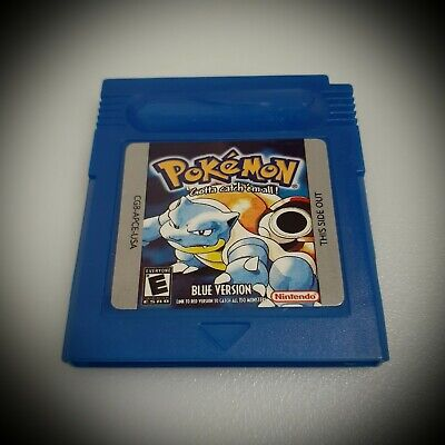 Pokemon Blue Version GameBoy Color GBC (FREE SHIPPING)