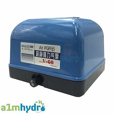 Hailea V60 Air Pump 10 Way Manifold V Series Koi Pond Aquarium Hydroponics