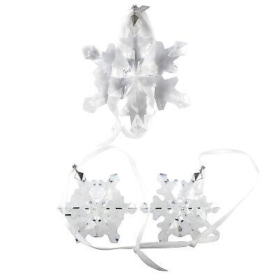 Swarovski 2012 Snowflake Christmas Ornament Set