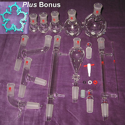 New Organic Chemistry Lab Glassware Kit 2440 29