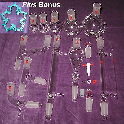 New Organic Chemistry Lab Glassware Kit 2440 29