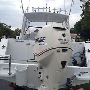 2000 7.0m plate trailcraft with 07 250hp ETEC Thornlands Redland Area Preview