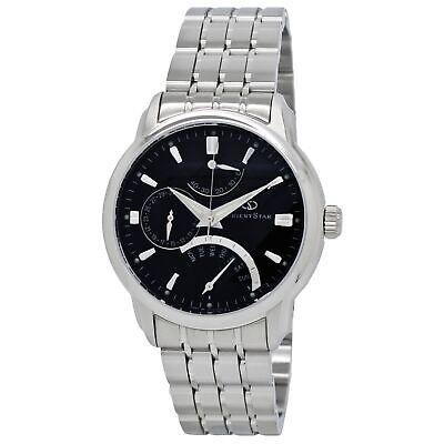 Orient Star Retrograde SDE00002B0 Black Dial Stainless Steel Men's Watch