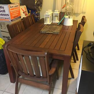 Outdoor dining table and chairsDining TablesGumtree