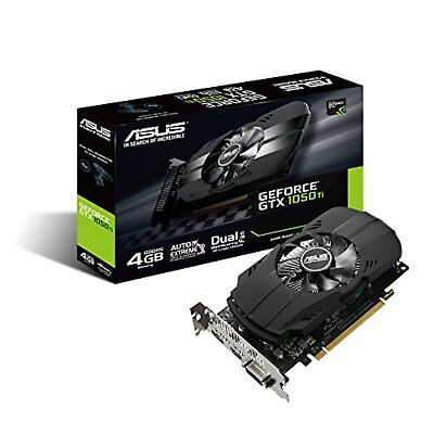 ASUS NVIDIA GeForce GTX 1050TI video card overclocking 4GB PH-GTX1050TI-4G F/S