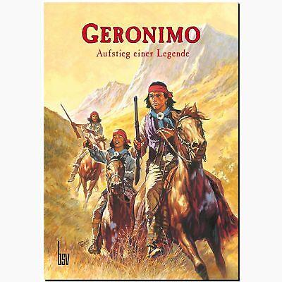 Geronimo Aufstieg einer Legende BSV Abenteuer INDIANER WESTERN Comic Fr. Agras