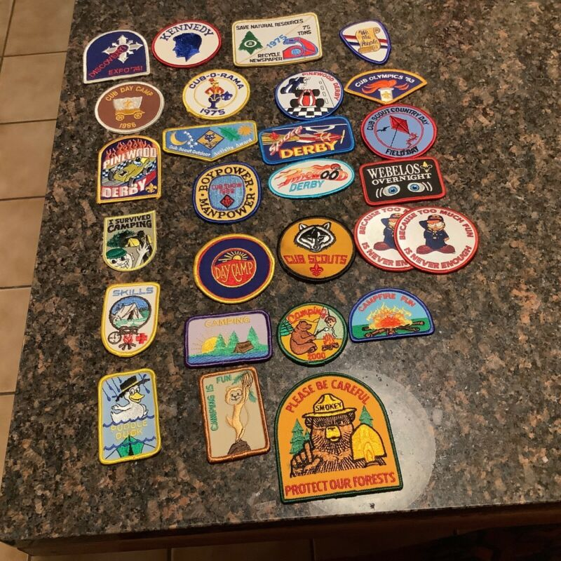 Cub Scout and Various other Patches