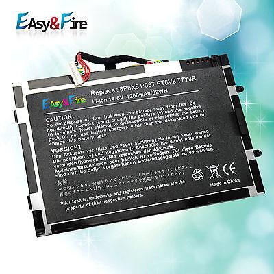 For Battery Dell Alienware M11x M14x R1 R2 R3 Pt6v8 8p6x6...