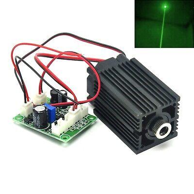 532nm 100mw Green Dot Long-time Laser Diode Module 12v Driver Fan Cooling