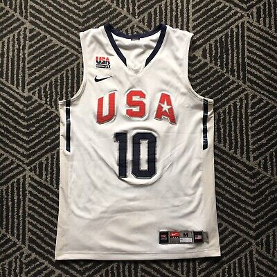 Nike Kobe Basketball USA Team Jersey 10 Size M Used
